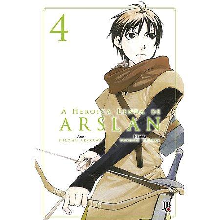 A Heroica Lenda de Arslan Volume - 04