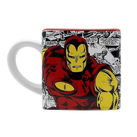 Caneca Cubo Iron Man 300ML