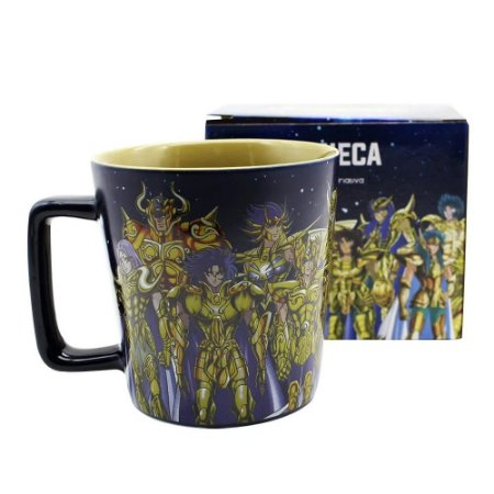 Caneca Buck 400ML: Cavaleiros de Ouro