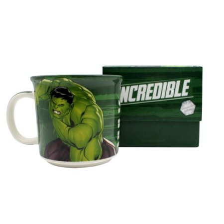 Caneca Tom Hulk 350ML: Tie Die