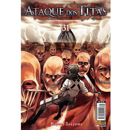 Ataque dos Titãs - Volume 31