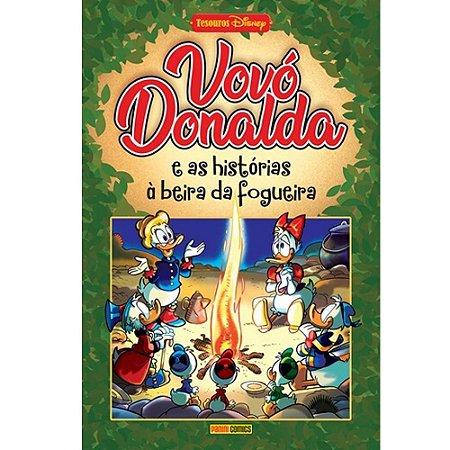Vovó Donalda e as Histórias à Beira da Fogueira