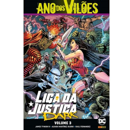Liga da Justiça Dark - Volume 03