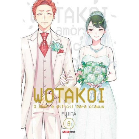 Wotakoi: O Amor é difícil para Otakus - Volume 09