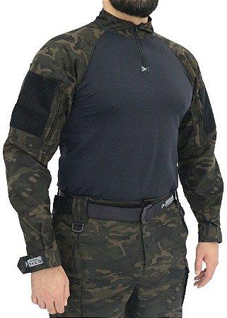 Combat Shirt HRT DACS - Multicam Black