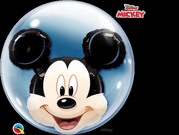 Balão Bubble Disney Shaped Mickey Mouse