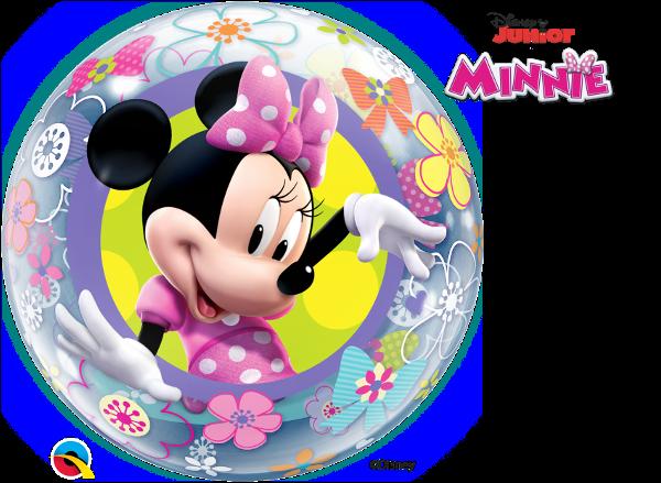 Balão Bubble Disney Minnie Mouse Bowtique