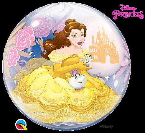 Balão Bubble Disney Bela