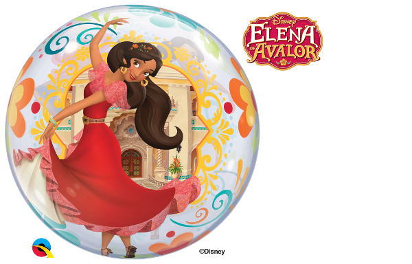 Balão Bubble Disney Elena de Avalor-