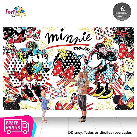 Painel de festa Decorativo - Minnie Conceito - 4,0m x 2,50m