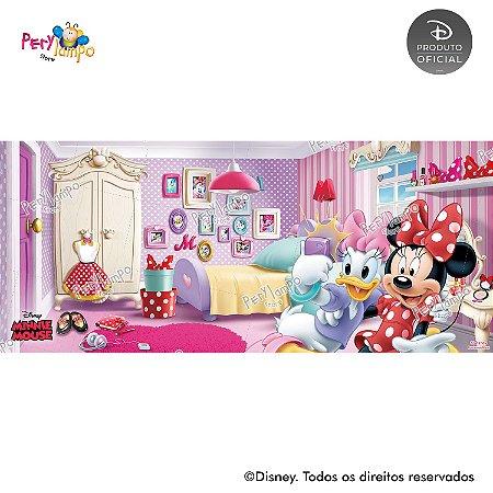 Painel de festa Decorativo - Quarto da Minnie - 7,0m x 3,0m