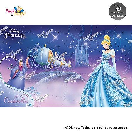Painel Decorativo Cinderela - Fada Madrinha - 4,0m x 2,50m