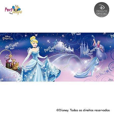 Painel festa Decorativo Cinderela - Ratinhos - 7,0m x 3,0m