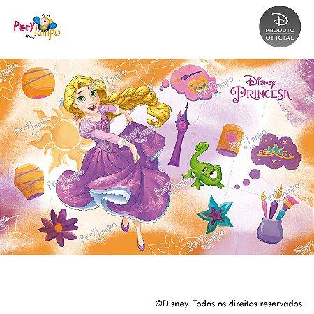 Painel Decorativo Enrolados - Rapunzel Aquarela - 4,0mx2,50m