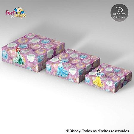 Kit Suportes Bandejas Decorativa - Princesas coleção Jóias