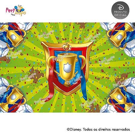 Lona Decorativa - Mickey Futebol - 3,0 x 2,0m