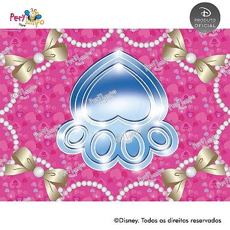 Lona Decorativa - Princesas Disney & Pets - 2,0 x 1,5m