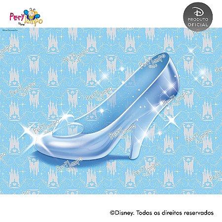Lona Decorativa - Cinderela - Carruagem - 2,0 x 1,5m