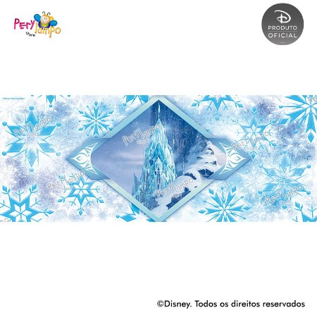 Lona fosca para piso - Frozen Neve - 5,0 x 2,0m