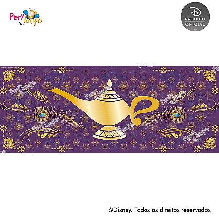 Lona Decorativa - Aladdin - Jasmine - Quarto - 5,0 x 2,0m