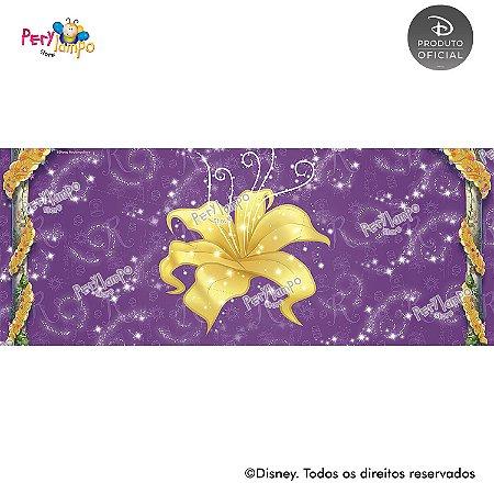 Lona Decorativa - Enrolados - Rapunzel Torre -  5,0 x 2,0m