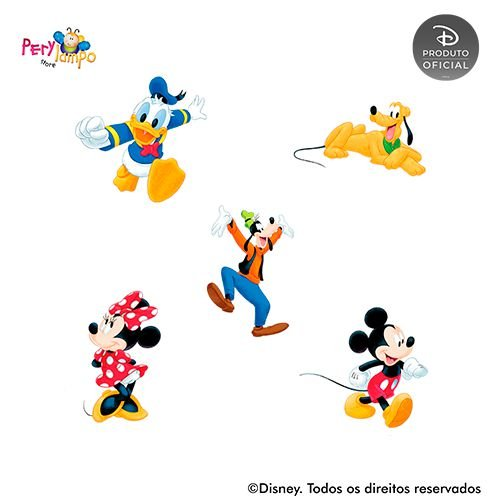 Kit 5 displays de mesa - Mickey e Amigos