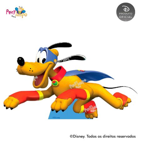 Display Totem de Chão - Mickey Super Heróis - Pluto