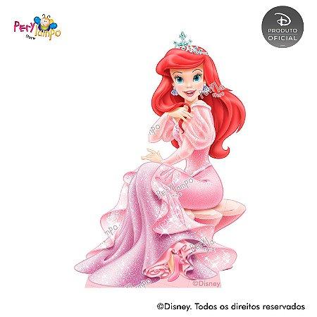 Display Totem de Chão - Princesas Disney coleção Jóias - Ariel
