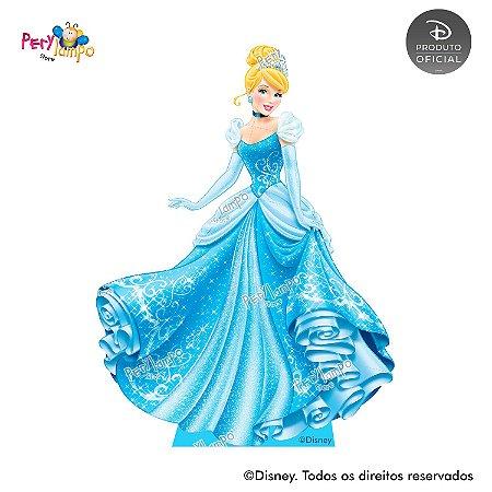 Display Totem de Chão - Princesas Disney - Coleção Jóias - Cinderela
