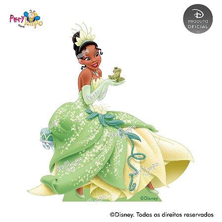 Display Totem de Chão - Princesas Disney coleção Jóias - Tiana