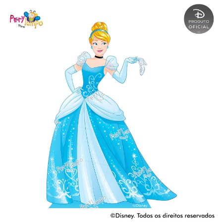Display Totem de Chão - Princesas Disney - Empoderadas - Cinderela