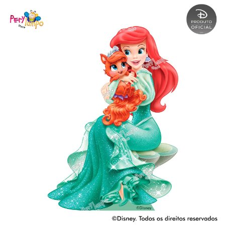 Display Totem de Chão - Princesas Disney & Pets - Ariel