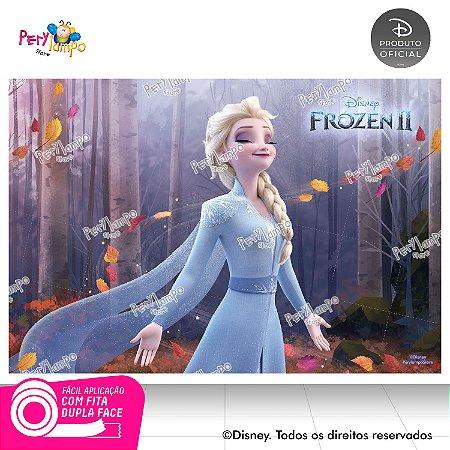 Painel Decorativo Frozen 2 - Elsa Sensações - 1,45m x 1,00m