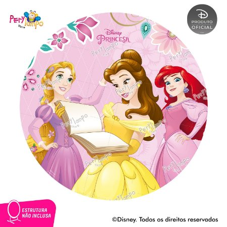 Painel Decorativo Redondo - Princesas Empoderadas 2 - 1,45D