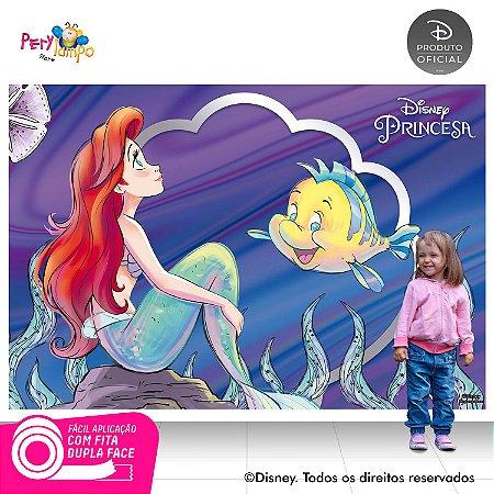 Painel Decorativo Pequena Sereia -Ariel 30 anos -2,20mx1,50m