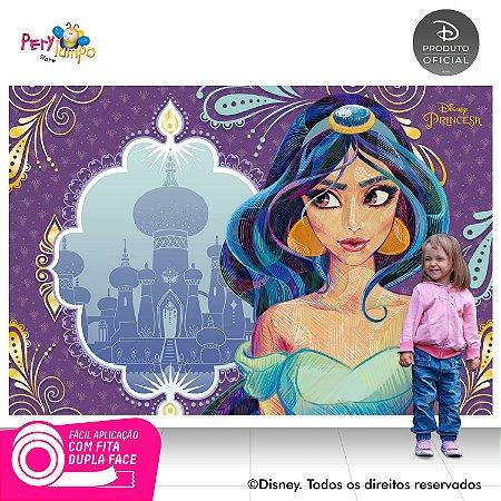 Painel Decorativo Aladdin - Jasmine Conceito - 2,20m x 1,45m