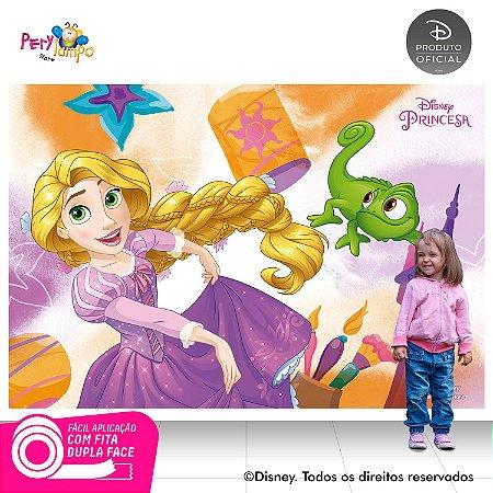 Painel Decorativo Enrolados - Rapunzel Aquarela-2,20mx1,45m