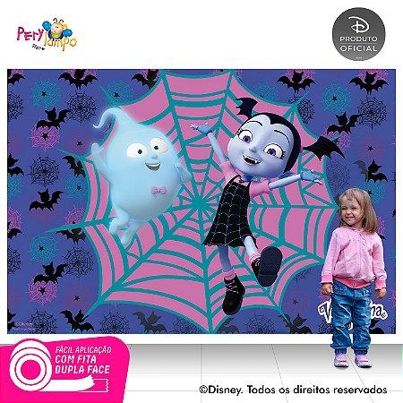 Painel de festa Decorativo - Vampirina Morcego-2,20m X 1,45m