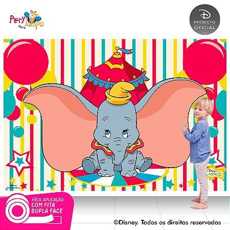 Painel festa Decorativo - Dumbo - 2,20 x 1,45m