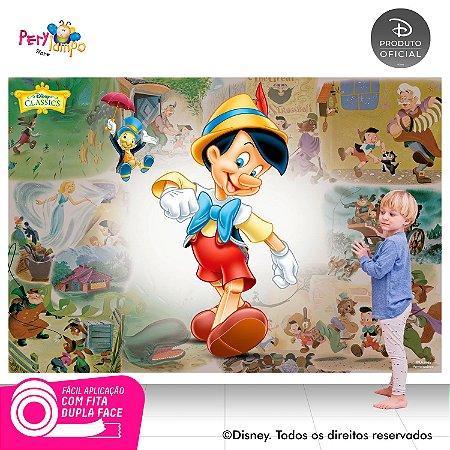 Painel de festa Decorativo - Pinóquio - 2,20 x 1,45m