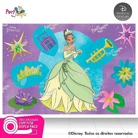 Painel de Festa Decorativo A princesa e o Sapo 1,45m X 1,00m