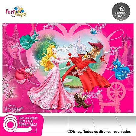 Painel Festa Decorativo A Bela Adormecida 1,45m X 1,00m