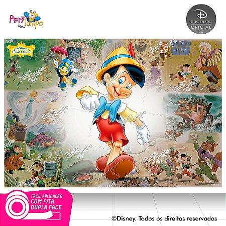 Painel de Festa Decorativo Pinóquio 1,45m X 1,00m