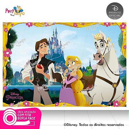 Painel Decorativo Enrolados - Rapunzel Série - 1,45m x 1,00m