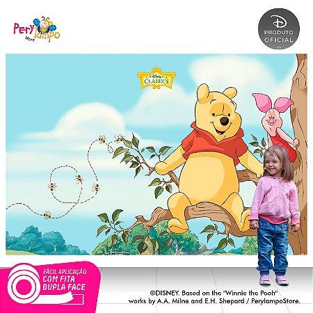 Painel de festa Decorativo - Pooh Árvore - 2,20 x 1,45m