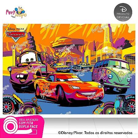 Painel festa Decorativo Carros - Deserto - 1,45m x 1,00m