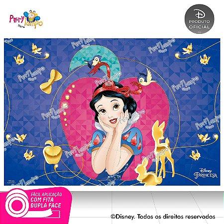 Painel festa Decorativo Branca de Neve Maça - 1,45m x 1,00m