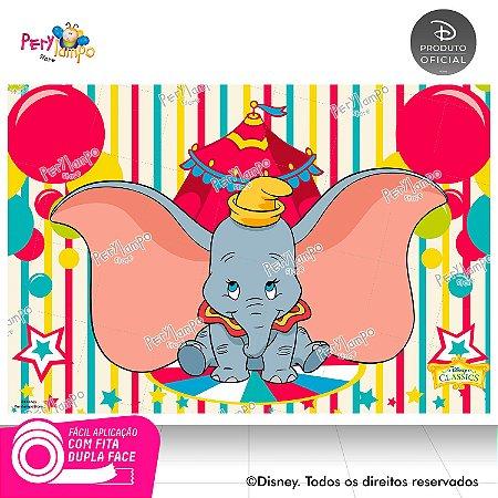 Painel festa Decorativo - Dumbo - 1,45 x 1,00m