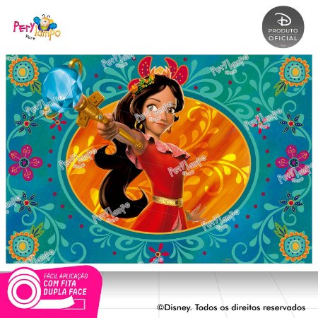 Painel festa Decorativo Elena de Avalor - 1,45 x 1,00m