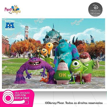 Painel festa Decorativo Monstros S.A. - 1,45 x 1,00m